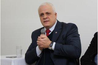 ACIST SL - Associação Comercial, Industrial, de Serviços e Tecnologia de São Leopoldo - Presidente da OAB/RS palestra na ACIST-SL
