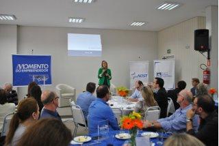 ACIST SL - Associação Comercial, Industrial, de Serviços e Tecnologia de São Leopoldo - Simone Leite: A força produtiva precisa tomar seu espaço político