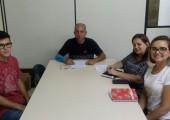 Na foto: Jesus Freitas e Leonardo Oliveira - Sine Veridiana Hahn e Ana Paula Viana - MD  | ACISSL