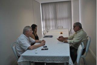 ACIST SL - Associação Comercial, Industrial, de Serviços e Tecnologia de São Leopoldo - ACIST-SL recebe vereador Júlio Galperin
