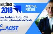 ACIST SL - Associação Comercial, Industrial, de Serviços e Tecnologia de São Leopoldo - ACIST-SL recebe Mateus Bandeira nesta segunda-feira, 16