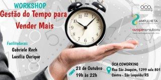 ACIST SL - Associação Comercial, Industrial, de Serviços e Tecnologia de São Leopoldo - Óca Coworking sedia evento sobre gestão do tempo