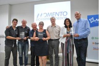 ACIST SL - Associação Comercial, Industrial, de Serviços e Tecnologia de São Leopoldo - Empresas homenageadas no Momento do Empreendedor