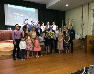 ACIST SL - Associação Comercial, Industrial, de Serviços e Tecnologia de São Leopoldo - Diretor do Colégio Sinodal recebe título de Cidadão Leopoldense