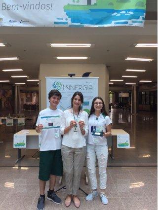 ACIST SL - Associação Comercial, Industrial, de Serviços e Tecnologia de São Leopoldo - Sinodal: Alunos são premiados em Mostra Científica da Unisinos