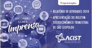 ACIST SL - Associação Comercial, Industrial, de Serviços e Tecnologia de São Leopoldo - ACIST-SL promove encontro com formadores de opinião