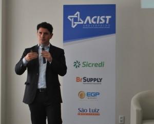 Victor Gomes, gerente do Instituto SENAI de Inovação em Soluções Integradas em Metalmecânica